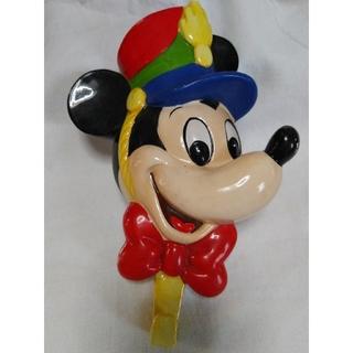 ヴィンテージ 陶器 ミッキーマウス 壁掛けフック