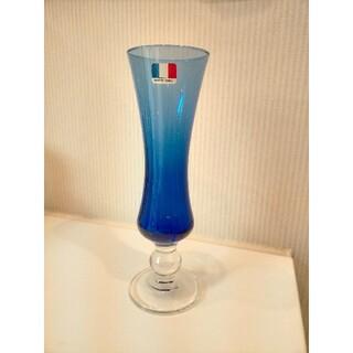 フランス製、ガラス花瓶