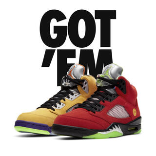 NIKE - NIKE AIR JORDAN 5 RETRO SE what the