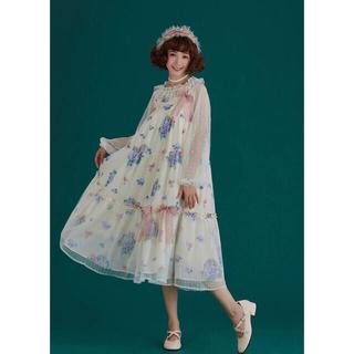 Angelic Pretty - あじさい柄 紫陽花 JSK