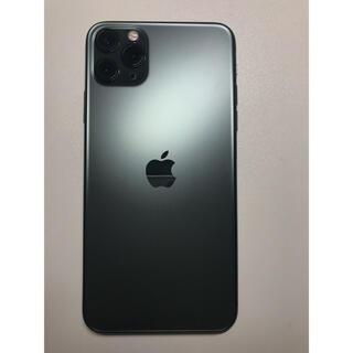 Apple - iPhone 11 Pro Max ミッドナイトグリーン 256 GB
