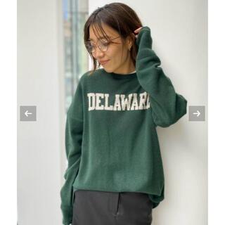 L'Appartement DEUXIEME CLASSE - アパルトモン GOOD GRIEF Cashmere Logo Knit PO