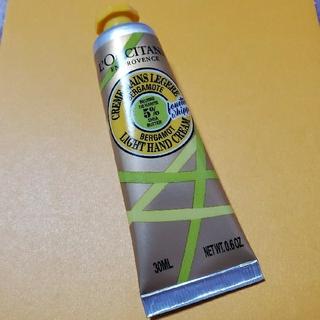 L'OCCITANE - 新品未開封☆ロクシタン アールグレイ スノーシア ハンドクリーム 30ml