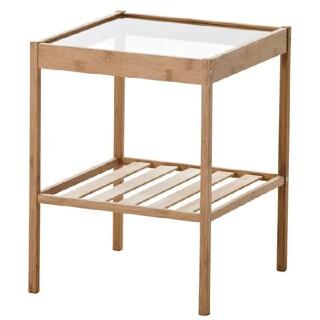 イケア(IKEA)の【送料込み】新品未開封IKEAベッドサイドテーブル NESNA ネスナ(コーヒーテーブル/サイドテーブル)