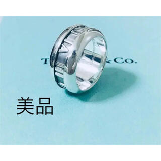 Tiffany & Co. - 美品 TIFFANY&CO. ティファニー  アトラス リング