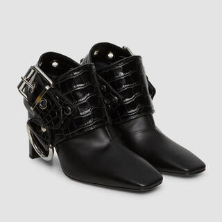 Balenciaga - alyx leather sling heel