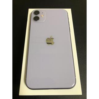 iPhone - 完備品★SIMフリー iPhone11 パープル 64GB