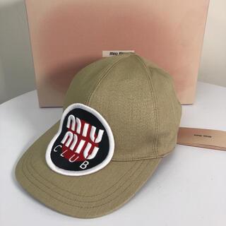 miumiu - miumiu ミュウミュウ キャップ 帽子