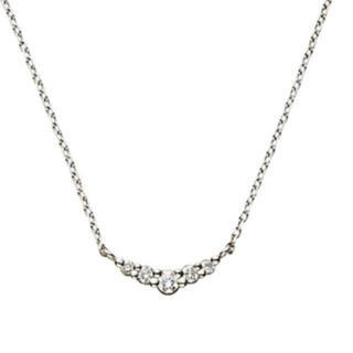 ヴァンドームアオヤマ(Vendome Aoyama)のヴァンドーム青山 リュール ネックレス プラチナ ダイヤ(ネックレス)