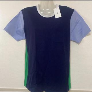 アロイ(ALOYE)の新品★ アロイ ALOYE 切替 Tシャツ(Tシャツ(半袖/袖なし))