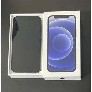 iPhone - iPhone 12 mini ブラック 64GB SIMフリー
