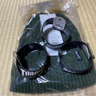 スラッシャー(THRASHER)のニット帽 ラバーバンドセット❗️(ニット帽/ビーニー)