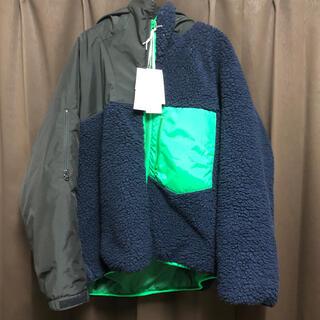 kolor - kolor beacon 19aw ボアフリースドッキングジャケット