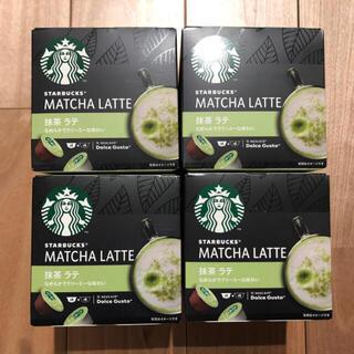 Nestle - ラスト1セット【新品】ドルチェグスト スターバックス 抹茶ラテ 4箱