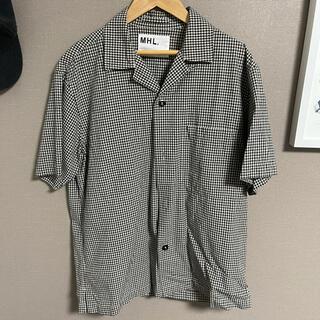MARGARET HOWELL - 美品 MHL ギンガム シャツ 半袖