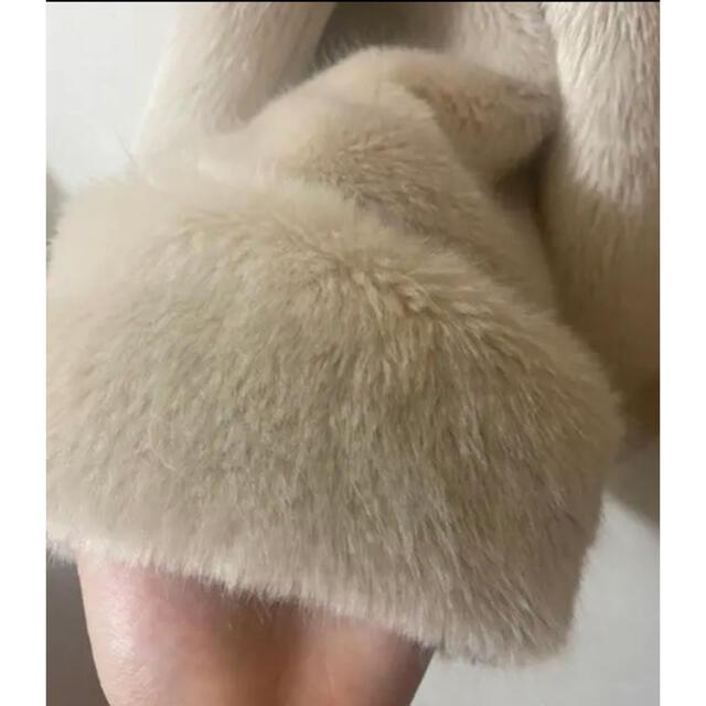 rienda(リエンダ)のrienda ラビットファーコート レディースのジャケット/アウター(毛皮/ファーコート)の商品写真