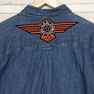 ハーレーダビッドソン(Harley Davidson)のGuide series ハーレーダビッドソン USA  デニムシャツ L(シャツ)