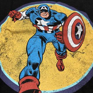 ZARA - Tシャツ マーベル キャプテンアメリカ 未使用 ZARAコラボ マーベルコラボ