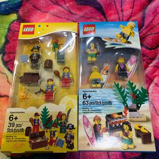 レゴ(Lego)のLEGO  海賊 サーフィン ミニフィグ 2個セット(その他)