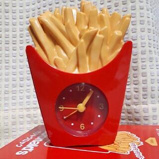 マクドナルド(マクドナルド)のポテトクロック(置時計)