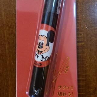 ディズニー(Disney)の#ディズニー#文房具#ハサミ#スティック型ハサミ#ミッキー#新品(はさみ/カッター)