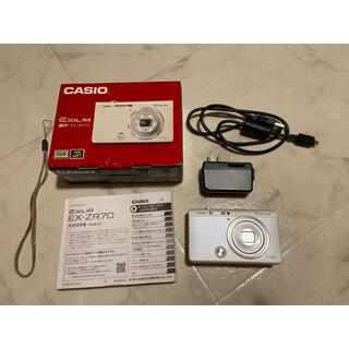 カシオ(CASIO)のCASIO HIGH SPEED EXILIM EX-ZR70WE(コンパクトデジタルカメラ)