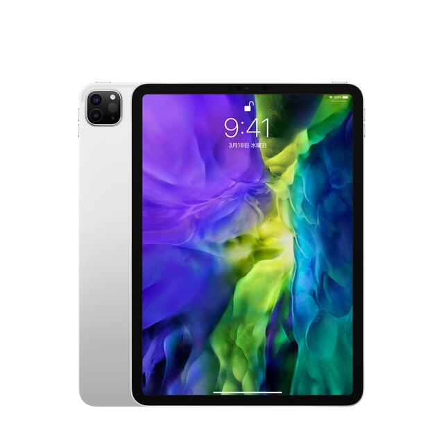 Apple(アップル)の【保証未開始】Apple iPad Pro 11インチ MXDH2J/Aシルバー スマホ/家電/カメラのPC/タブレット(タブレット)の商品写真
