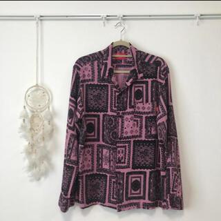 Supreme - Supreme Laces Rayon Shirt 2017SS Size: M