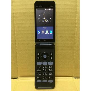 キョウセラ(京セラ)のKYF37 SIMフリー 京セラ au ガラホ 送料無料 即購入可(携帯電話本体)