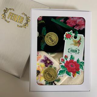 FEILER - 【新品】フェイラー ハンカチ2枚セット 箱入り