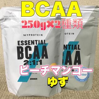 マイプロテイン(MYPROTEIN)のマイプロテイン  BCAA 250g×2種類 ピーチマンゴー&ゆず(アミノ酸)