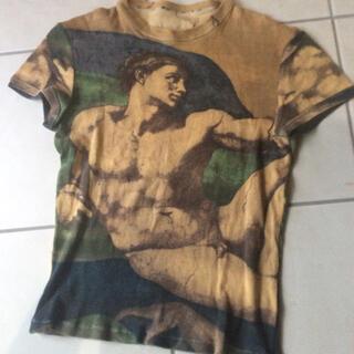 ジャンポールゴルチエ(Jean-Paul GAULTIER)の稀少インポート ジャンポールゴルチエ リブカットソー(Tシャツ/カットソー(半袖/袖なし))