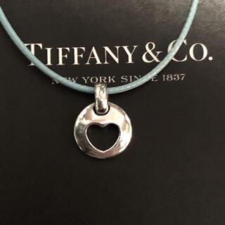 Tiffany & Co. - ティファニー💖ネックレストップ➕ワックスコード商品説明必読