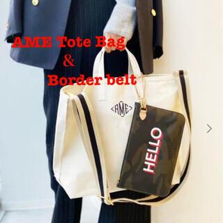 L'Appartement DEUXIEME CLASSE - 【AMERICANA】AME Tote Bag&Border belt