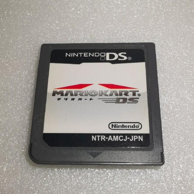 ニンテンドーDS(ニンテンドーDS)の【DS】マリオカート エンタメ/ホビーのゲームソフト/ゲーム機本体(携帯用ゲームソフト)の商品写真