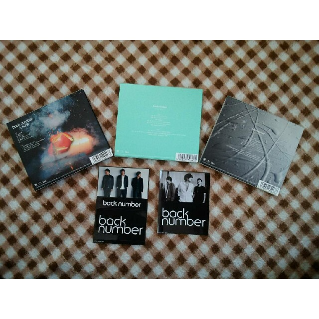 BACK NUMBER(バックナンバー)のback number(バックナンバー)CD/DVD ステッカー付き エンタメ/ホビーのCD(ポップス/ロック(邦楽))の商品写真