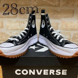 CONVERSE - コンバースランスターハイク ハイ Black 28cm
