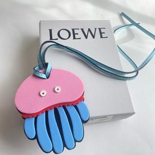 ロエベ(LOEWE)の【新品】LOEWE Paula's Ibiza パウラズ クラゲ バッグチャーム(キーホルダー)