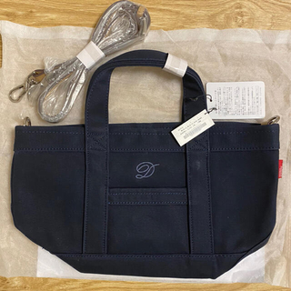 DOUBLE STANDARD CLOTHING - 新品 未使用 DOUBLE STANDARD トートバッグ ネイビー