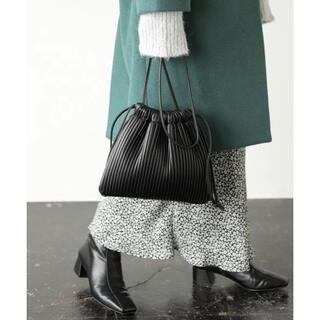 LOWRYS FARM - ローリーズファーム ショルダー巾着バッグ 黒