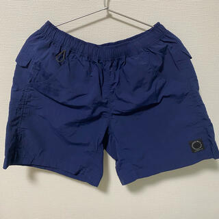 山と道 5-pocket short Navy Lサイズ