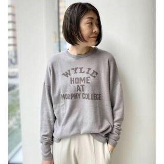 L'Appartement DEUXIEME CLASSE - GOOD GRIEF Cashmere Logo Knit Pullover