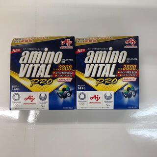アジノモト(味の素)のアミノバイタルPRO 14本入り×2個(アミノ酸)