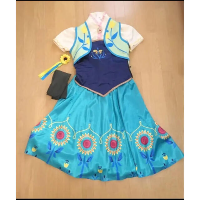 Disney(ディズニー)のドレス アナ雪 コスプレ アナ 大人 エンタメ/ホビーのコスプレ(衣装)の商品写真