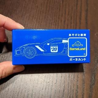 ボーネルンド(BorneLund)の新品未開封 ボーネルンド ノベルティ 黄色い車(電車のおもちゃ/車)