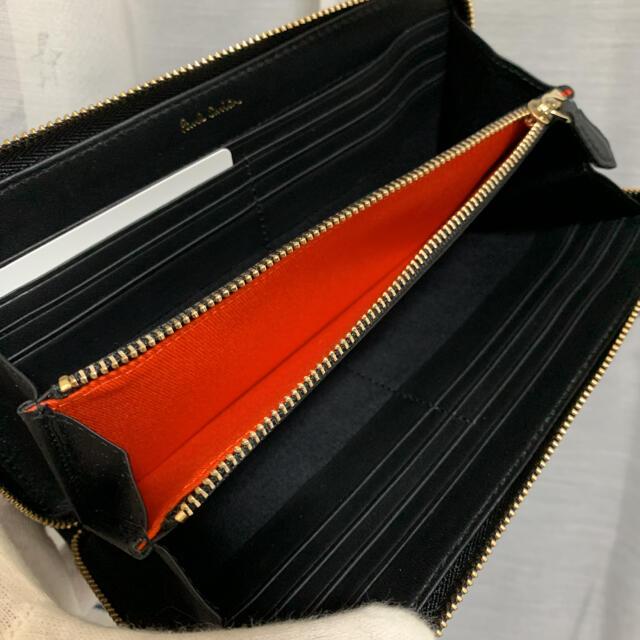 Paul Smith(ポールスミス)のポールスミス ペインテッドデイジー 長財布 レディース ブラック レディースのファッション小物(財布)の商品写真