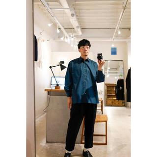 MARKAWEAR - MARKAWARE 試着のみ タグ付 20aw コンフォートフィットシャツ