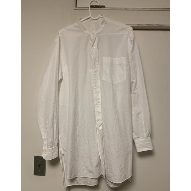 COMOLI(コモリ)の20ss comoli コモリ バンドカラーシャツ メンズのトップス(シャツ)の商品写真