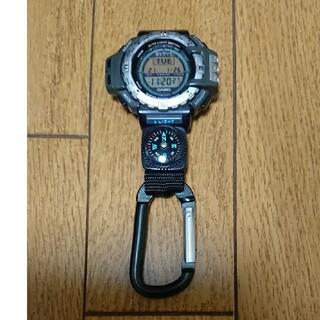カシオ(CASIO)のCASIO PROTREK PRT-40 カラビナ仕様(腕時計(デジタル))