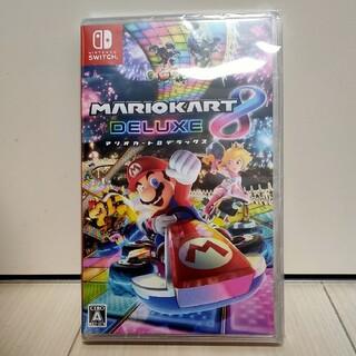 ニンテンドースイッチ(Nintendo Switch)の【新品未開封】マリオカート8デラックス(家庭用ゲームソフト)